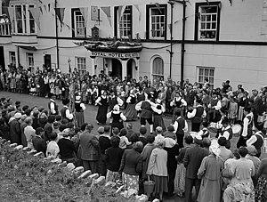 Llangollen International Musical Eisteddfod - Dancing at the 1957 Eisteddfod