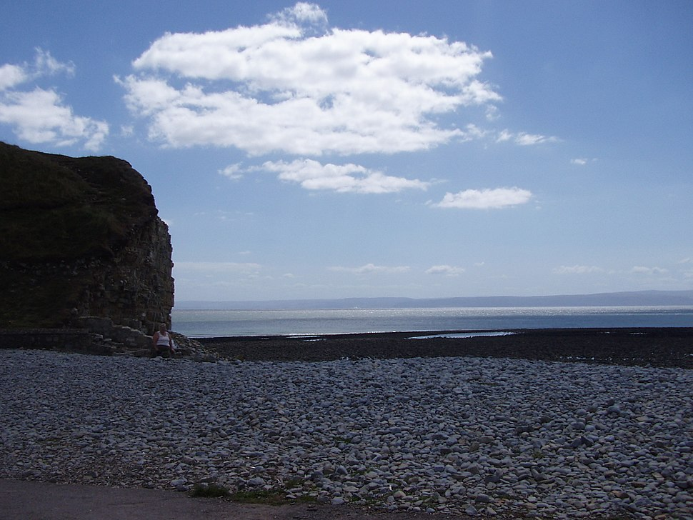 Llantwit Major Beach Bristol Channel