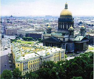 Ministry of Defence (Russia) - Lobanov-Rostovsky Palace, Former Defense Ministry building.