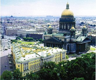 Main Building of the Ministry of Defense (Russia) - Lobanov-Rostovsky Palace, Former Defense Ministry building during czarist regime, 1824-1918.