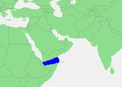 Carte du golfe d'Aden en 1860