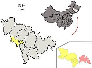 Yitong Manchu Autonomous County Autonomous county in Jilin, Peoples Republic of China