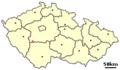 Location of Czech city Breznice.png