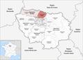 Locator map of Arrondissement Sarcelles 2019.png