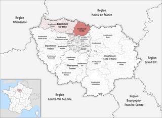 Arrondissement of Sarcelles Arrondissement in Île-de-France, France
