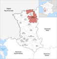 Locator map of Kanton Le Val de Thouet 2019.png