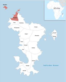 Mtsamboro Commune in Mayotte, France