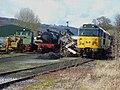 Locomotives at Peak Rail - geograph.org.uk - 362736.jpg