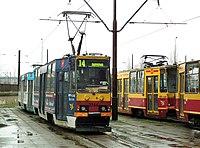 Lodz Dabrowa tram loop.jpg