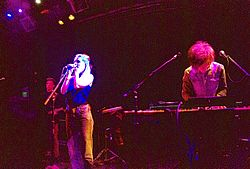 London Grammar am 27 September 2013,  am Rickshaw Stop,  San Francisco, California, USA.