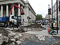 London June 13 2016 004 St Martin's Place Closed Gas Leak (2) (27650105965).jpg