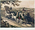 London to Brighton stage coach, 1822.jpg