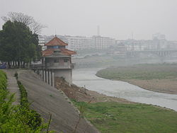 Skyline of Longhui County