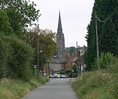Long Lane towards Kegworth - geograph.org.uk - 557653.jpg