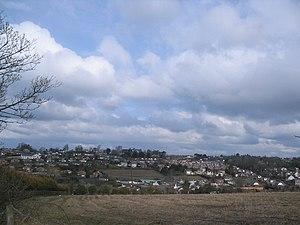 Banbridge - Housing estates in western Banbridge