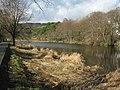 Looking upstream along the Tweed at Peebles - geograph.org.uk - 1185411.jpg