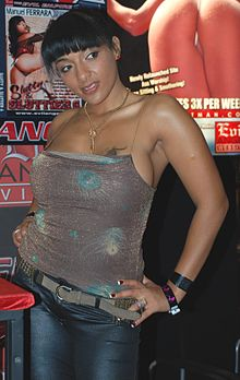 Loona Luxx at AVN Adult Entertainment Expo 2009 (closer).jpg
