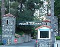 Los Angeles - Historic LAPD Academy entrance.JPG