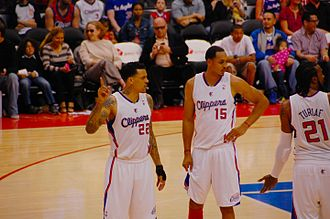 Matt Barnes - Barnes with former teammates Ronny Turiaf and Ryan Hollins