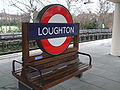 Loughton station roundel.JPG