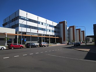 Louisa Lawson - Image: Louisa lawson building named photo November 2015 Greenway Canberra