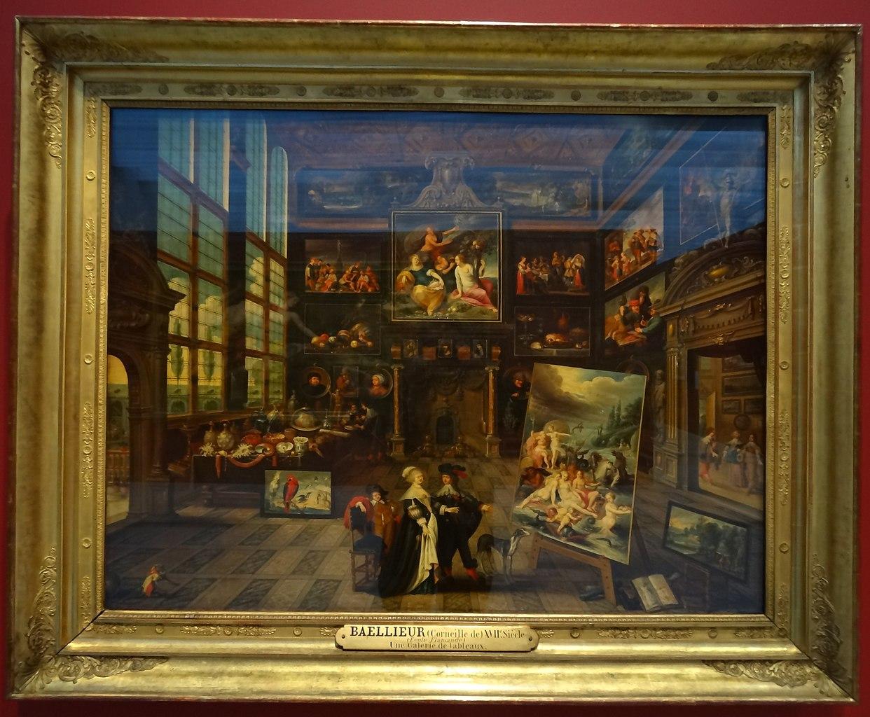 File Louvre Lens L Europe De Rubens 080 Interieur D Une Galerie De Tableaux Et D Objets D Art Jpg Wikimedia Commons