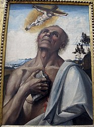 Luca Signorelli: The Penitent St. Jerome in Ecstasy