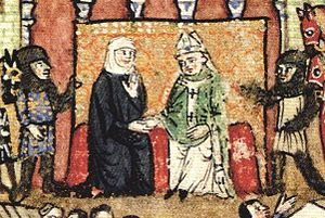Lucia, Countess of Tripoli - Lucia of Tripoli, during the Fall of Tripoli in 1289.