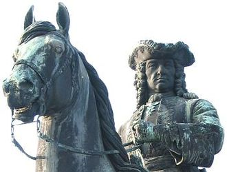Ludwig Andreas von Khevenhüller - Field-Marshal Khevenhüller, part of the Maria Theresia monument in Vienna