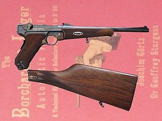 Luger pistol - Luger Model 1900 pistol carbine