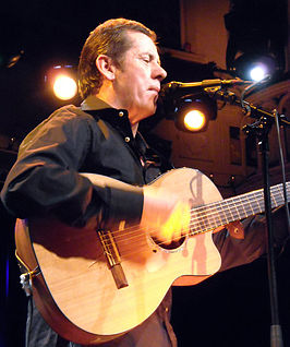 Luka Bloom in Amsterdam (2008).