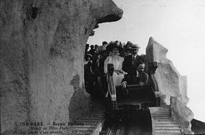 Luna Park, Paris - Scenic Railway