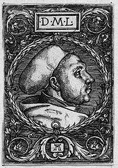 Martin Luther, Holzschnitt von Albrecht Altdorfer (Quelle: Wikimedia)
