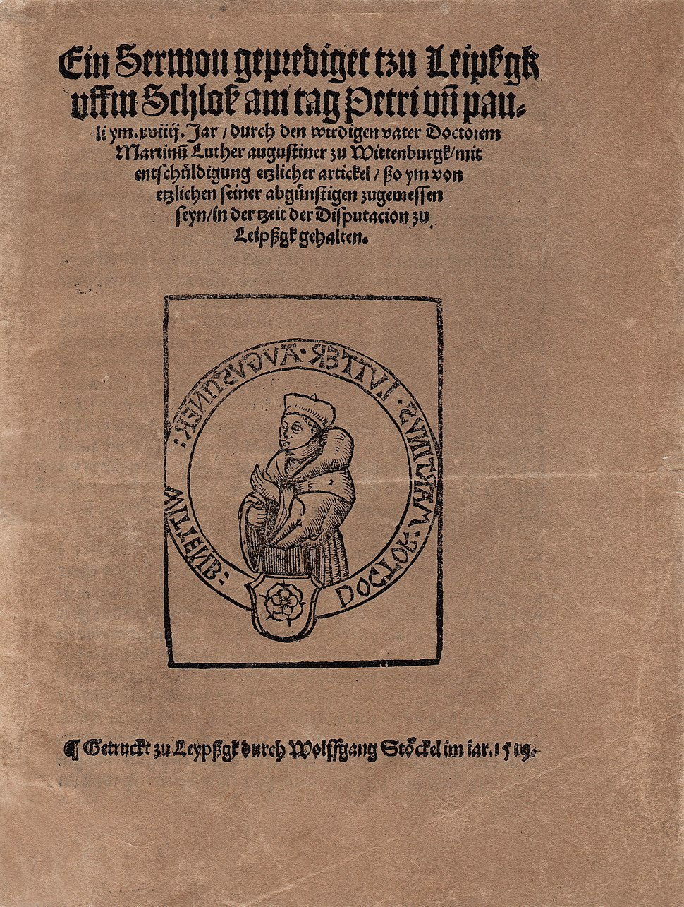 Luther 1519