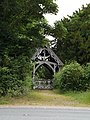 Lych gate of St Peter and St Paul's church, Hoxne-geograph-4551133-by-Adrian-Cable.jpg