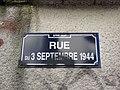 Lyon 9e - Rue du 3 Septembre 1944 - Plaque 1 (fév 2019).jpg