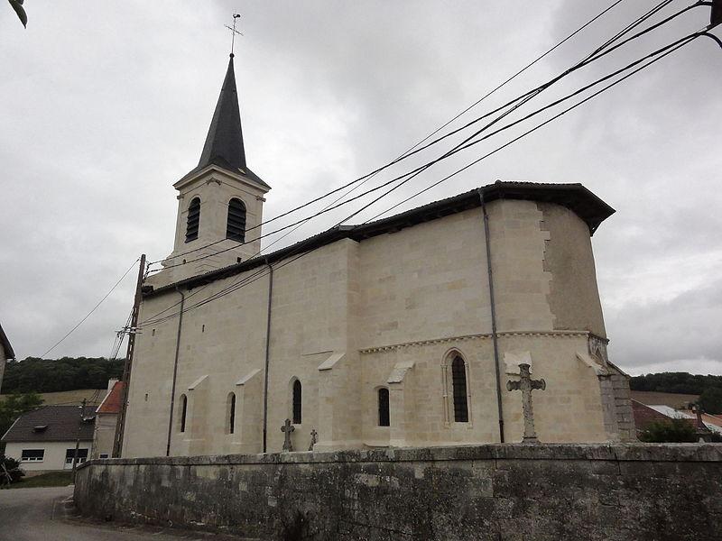 Méligny-le-Petit (Meuse) Église de l'Invention-de-Saint-Etienne