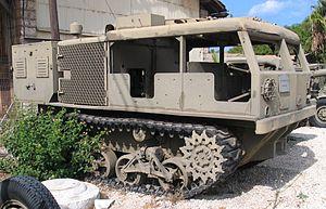 M4 Tractor - An M4 at Batey ha-Osef Museum, Tel Aviv, 2005