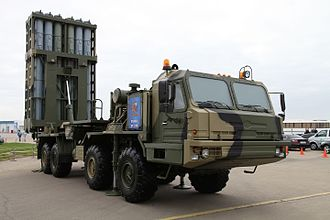 S-350E Vityaz 50R6 - Image: MAKS2013firstpix 02