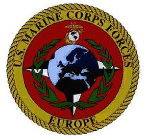 United States Marine Corps Forces, Europe - Image: MARFOREUR