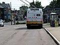 MBTA route 73 bus at Waverley station, May 2012.JPG