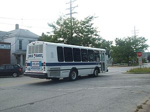Michigan City Transit - Michigan City Transit Bus Route 3 stops near Carroll Avenue NICTD station