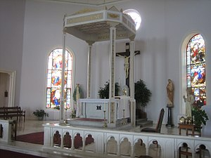 Mount de Sales Academy (Catonsville, Maryland) - Image: MDSA chapel