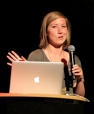 Jessica Hische - Jessica Hische as a speaker at the 2014 Beyond Tellerrand conference
