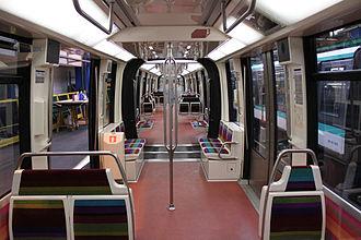 MP 05 - Interior arrangement of a new MP 05 train.