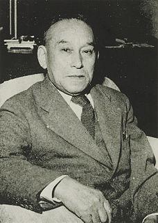 Shōzō Murata Japanese businessman, politician, diplomat