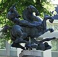 Maastricht - Onze Lieve Vrouweplein - Jupiter - Fons Bemelmans 1947 20100718.jpg