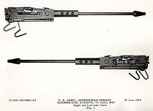 Machine Gun, Caliber. 50. Fixed M85 12 June 1963.jpg