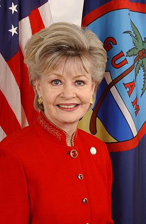 United States House of Representatives election in Guam, 2012 - Image: Madeleine Bordallo, official photo portrait, color