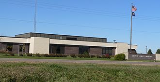 Madison County, Nebraska - Image: Madison County Courthouse (Nebraska) 2